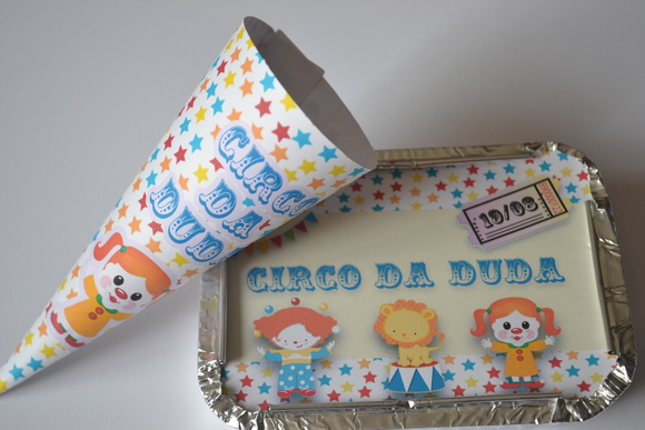Mini kit guloseima Circo