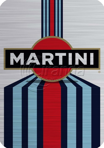 Placa Decorativa Martini
