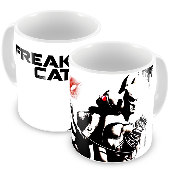 Caneca Freak Cat