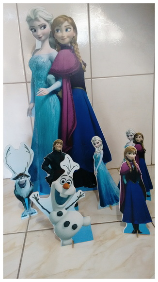 Aluguel Display Festa infantil Frozen