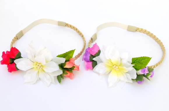 TIARA/HEADBAND BABY FLOWERS