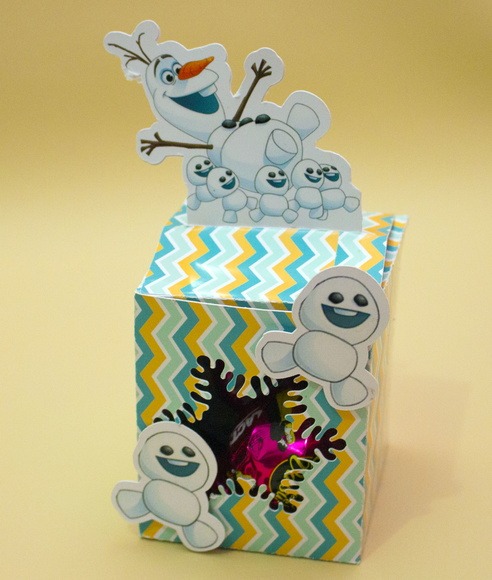 Cubo Olaf Frozen Fever