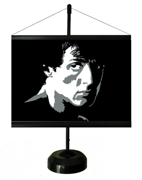* MINI BANNER - STALLONE ( ROCK )
