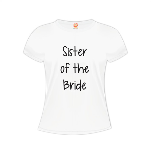 Camiseta Sister of the Bride