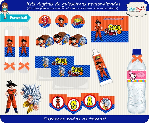 Kit Digital Dragon Ball z