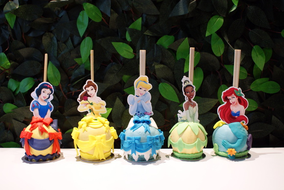 Maçã de Chocolate - Princesas Disney
