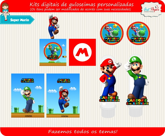 Kit digital Super Mario