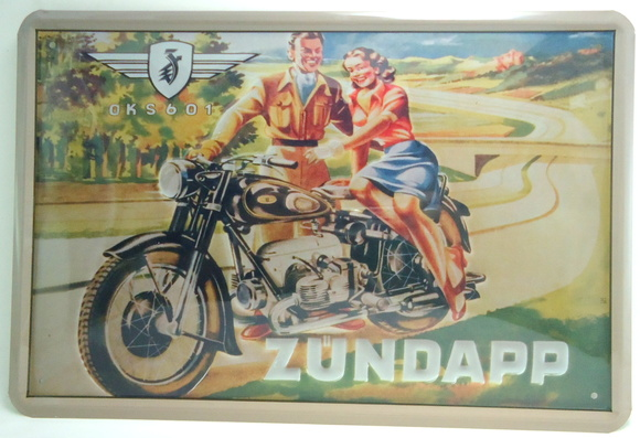 Placas Vintage King de Metal 30x20 V-309