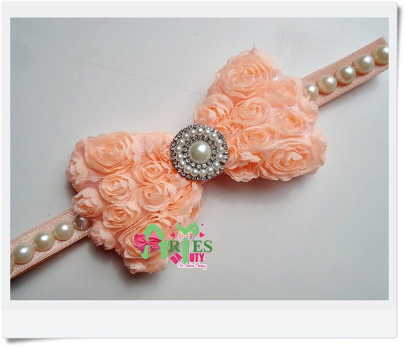 Headband Infantil Bordado