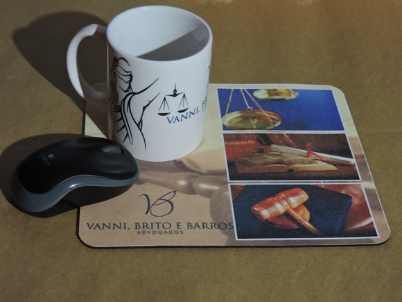 Kit Mouse Pad + Caneca Personalizados