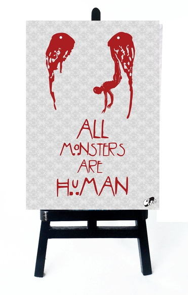 * MINI POSTER - HORROR STORY - MONSTER