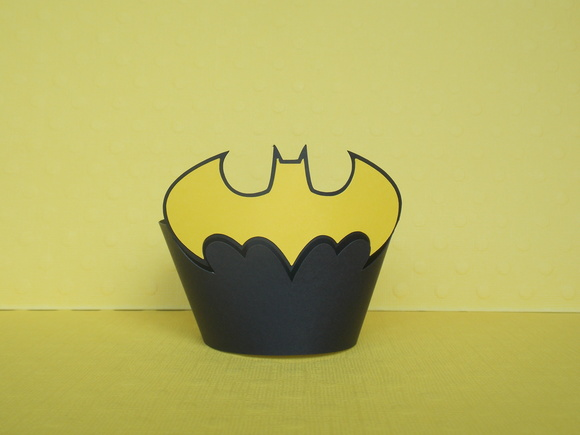 Wrapper para Cupcake Batman