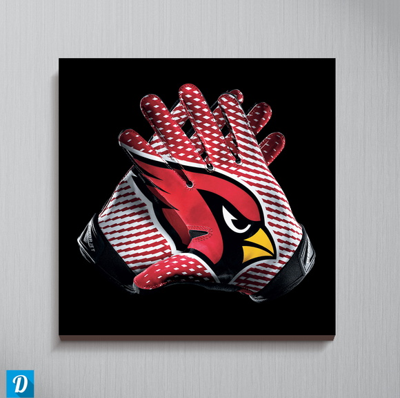 Quadro NFL - Arizona Cardinals 30x30 cm