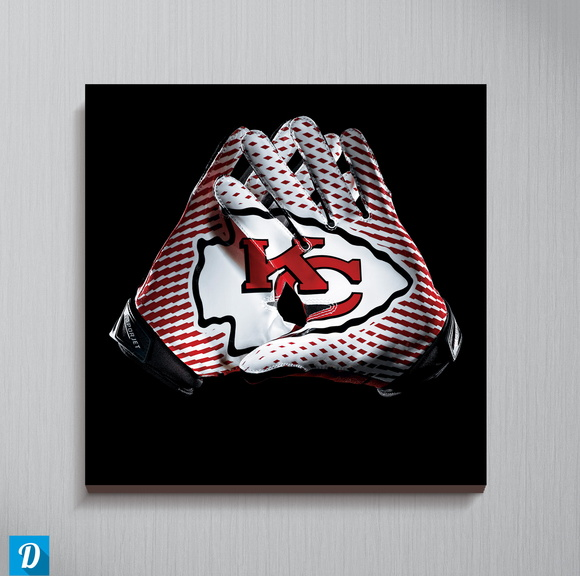 Quadro NFL - Kansas City Chiefs 30x30 cm