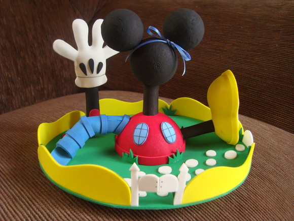 casa do mickey pequena