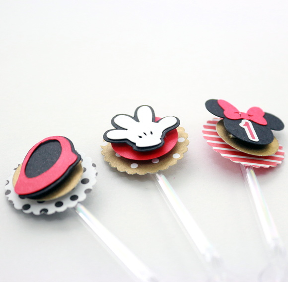 Mini Topper para Doces Tema Minnie