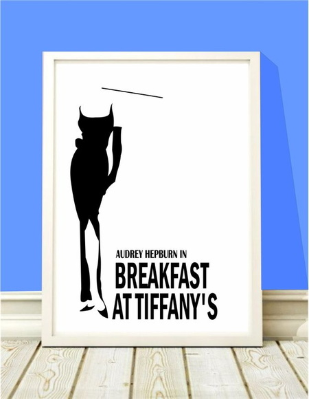 Poster A4 Audrey Breakfast