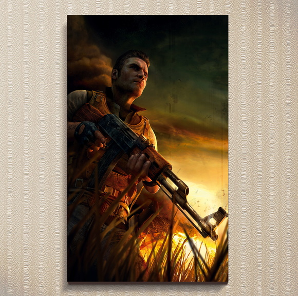 Quadro Far Cry 2 - Games 30x44 cm