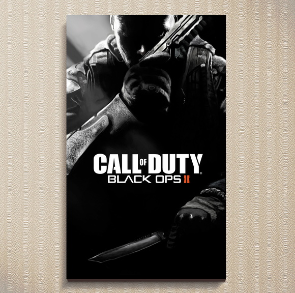 Quadro Call Of Duty - Games 30x44 cm