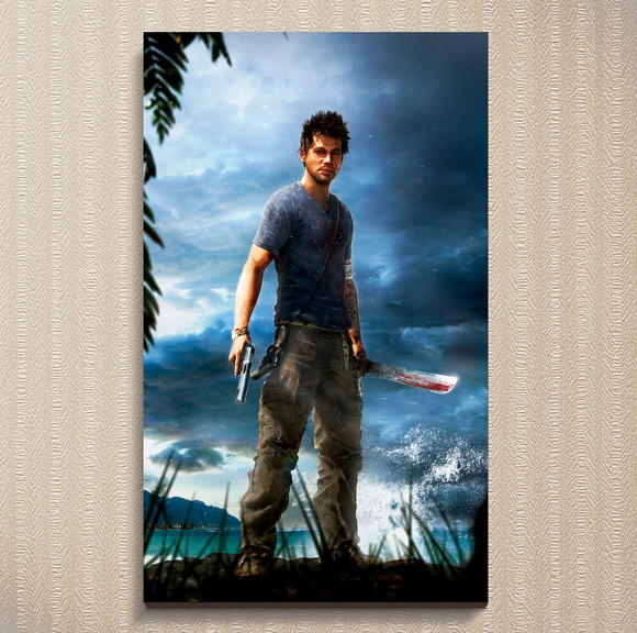Quadro Jason - Far Cry 3 - 30x44 cm