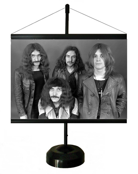 * MINI BANNER - BLACK SABBATH