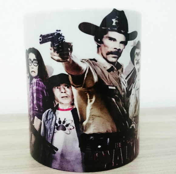 Canecas Turma do Chaves The Walking Dead