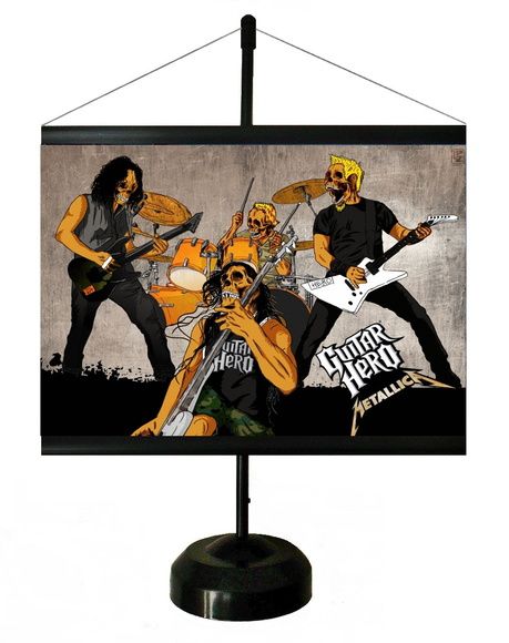 * MINI BANNER - POP ART - METALICA