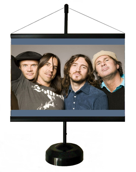 * MINI BANNER - RED HOT CHILI PEPPERS 2