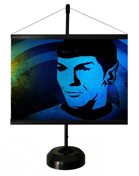 * MINI BANNER - POP ART - DOCTOR SPOCK