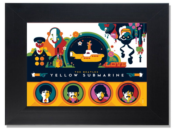 QUADRO DECORATIVO-YELLOW SUB