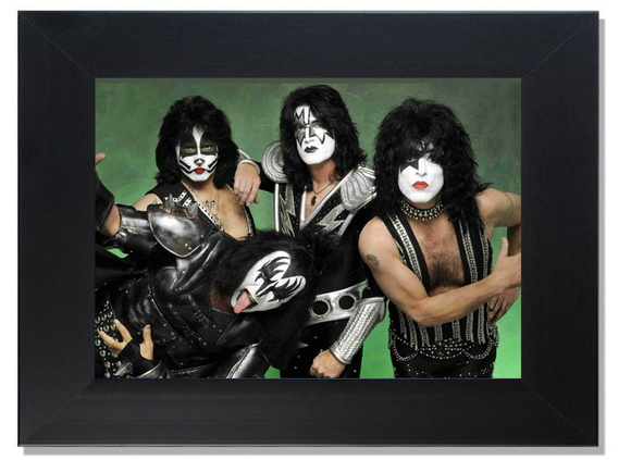 QUADRO DECORATIVO - KISS 2