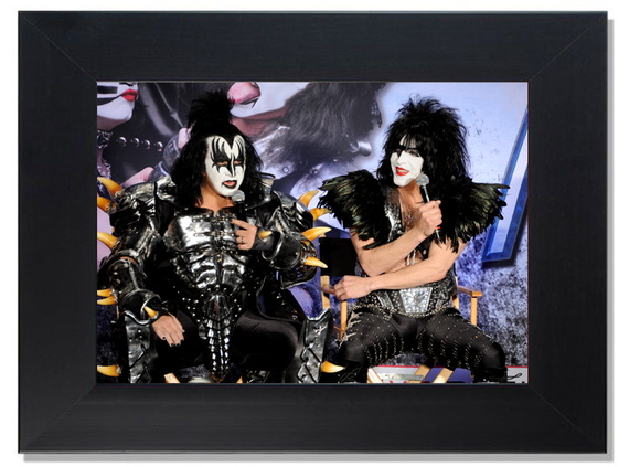 QUADRO DECORATIVO - KISS 3