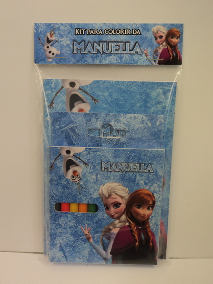 Kit para Colorir - Frozen