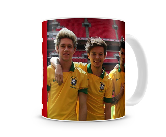 Caneca ONE DIRECTION Brasil