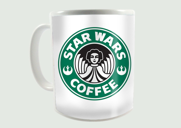 Caneca Star Wars Coffee 02