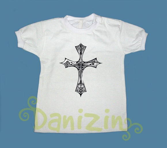 T-Shirt Bebê e Infantil CRUZ TATOO