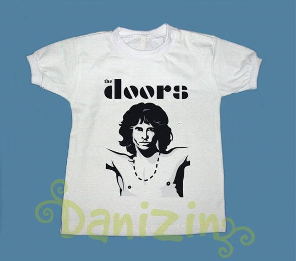 T-Shirt Bebê e Infantil THE DOORS II