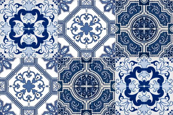 Kit adesivo azulejo portugu s 36 pe as vistick adesivos decorativos elo7 - Azulejos portugueses comprar ...