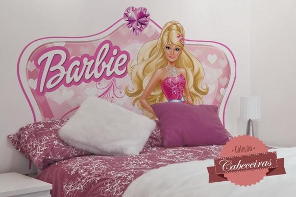 Adesivo de Parede Barbie  Elo7