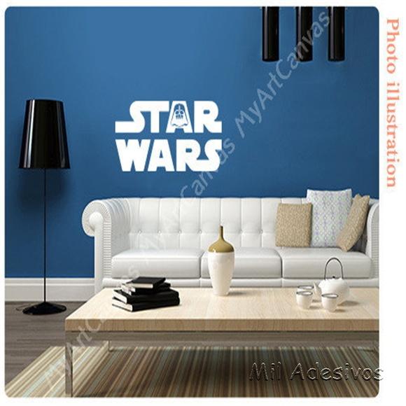 Aparador Cocina Estrecho ~ Adesivo de Parede Star Wars Elo7