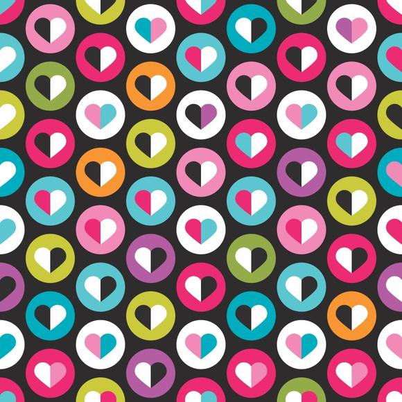 Papel de parede cora es retr qcola elo7 - Papel decorativos para paredes ...