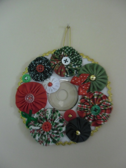 Decoração Com Cd ~ EnfeiteÁrvore de Natal CD reciclado no Elo7 Ponto com Arte Artesanato e Decoraç u00e3o (535C41)