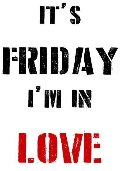 "Camiseta The Cure ""Friday I'm in Love"""