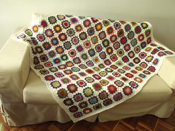 Manta de sof croch no elo7 cristina sommer 545ad1 - Manta para sofa ...