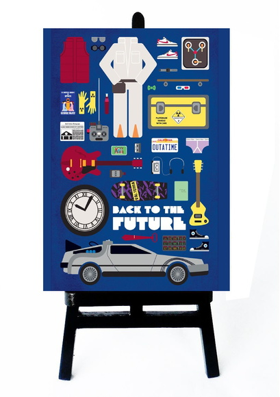 . MINI POSTER - BACK TO THE FUTURE