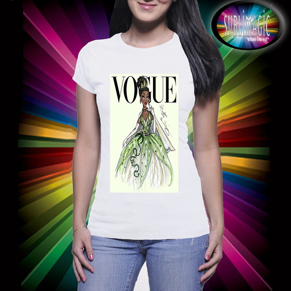 Camiseta Vogue Princesa Tiana