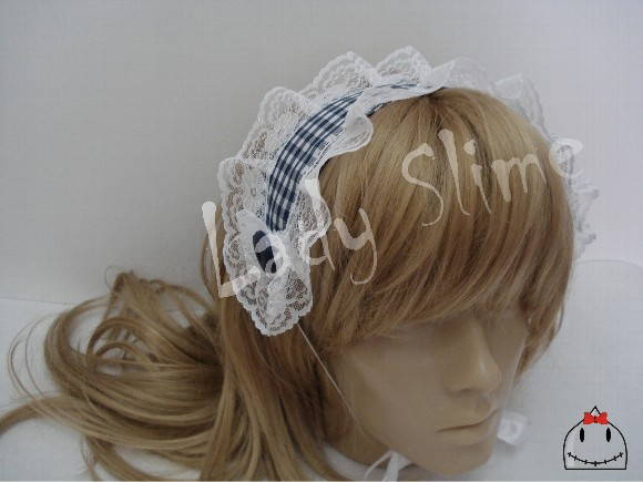 Headdress Lolita Xadrez