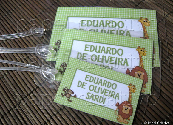 Kit 3 Bagtags - Selva