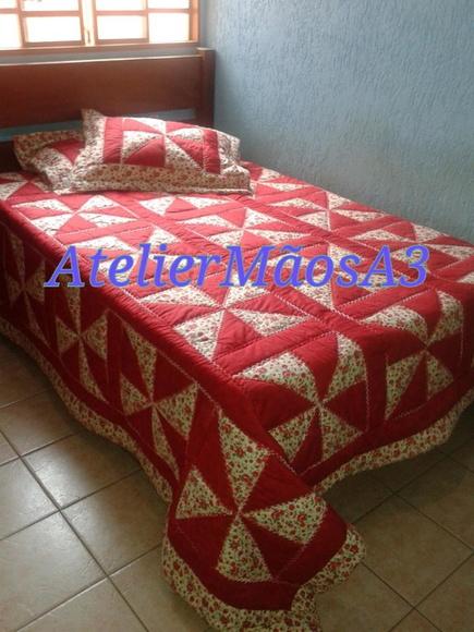 Colcha de catavento em patchwork no elo7 roselene colchas patchwork atelier m os 3 573d5f - Categoria a3 casa ...