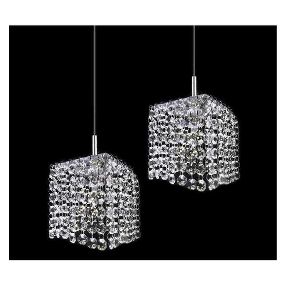Lustre pendente duplo cristal leg timo lustres cp design - Comprar tarros de cristal pequenos ...